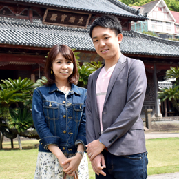 石田 健人・美穂ご夫妻