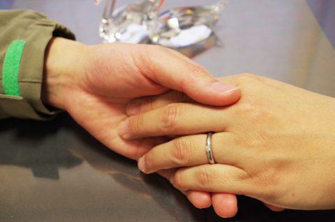 婚約退会(手の写真)